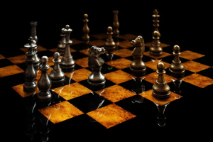 playing games - chess