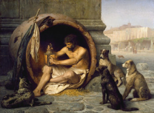 diogenes great man