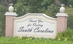now leaving south carolina