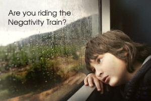 riding the negativity train